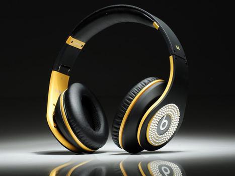 Eye-catching Monster Beats By Dr Dre Studio Headphone Diamond Black Yellow_hellobeatsdreseller.com | Yellow Diamond Beats_hellobeatsdreseller.com | Scoop.it
