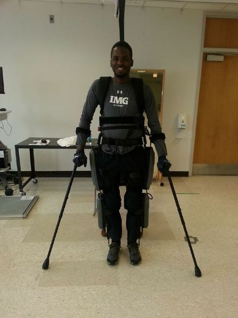 The remarkable robotic exoskeleton that's helping a paralyzed Army vet walk again | Inventions and innovations that change the world; Curiosity, knowledge, educational articles; learning opportunities... | Scoop.it