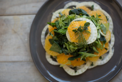 Orange and Fennel Winter Salad - Relay Living | Recipes | Scoop.it