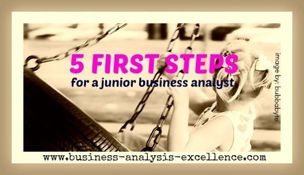 Junior Business Analyst | First 5 Steps To Take | Business Analysis | Scoop.it