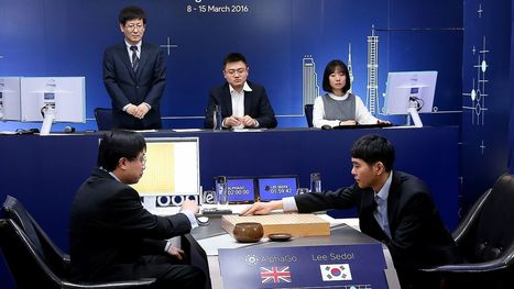 Google's DeepMind defeats legendary Go player Lee Se-dol | Mathematics,Science Resources And News | Scoop.it