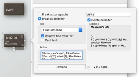 From database to hypertext: exporting from FileMaker Pro to Storyspace   Filemaker Info   Scoop.it