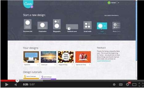 Canva- A Great Web Tool for Creating Mini-posters for Class | Aprendiendo a Distancia | Scoop.it