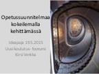 Sitran Uusi koulutus -foorumi | Mielikuvituskoulu | Scoop.it
