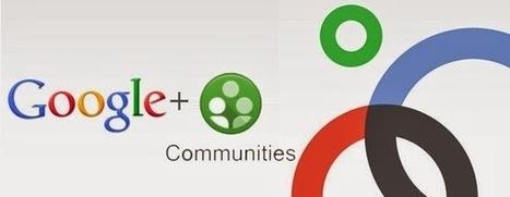 Google+ Communities como red social para orientadores educativos | Orientación en Secundaria | Scoop.it