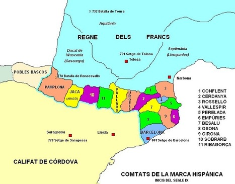 ORÍGENS DE CATALUNYA I CONFIGURACIÓ DEL PODER | País i territori | Scoop.it