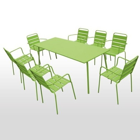 La table de jardin aluminium ! | Relations Presse de Boutique Jardin | Mobilier de réception | Scoop.it