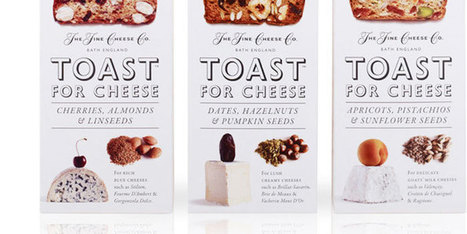 Toast For Cheese - The Dieline - | Frommagedesignshine | Scoop.it