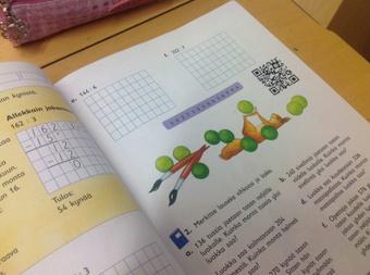 QR-koodit matikan kirjassa   Matikkakerho   Scoop.it