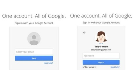 Gmail's New Login Screens Hints At A Future Beyond Passwords | Science & Technology News | Scoop.it