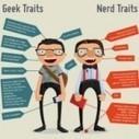 Geek vs. Nerd: The Infographic   Web 2.0 et société   Scoop.it