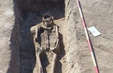 Összekötözött végtagú csontvázakat találtak a tatárjárás korából | Magyar régészet | Scoop.it