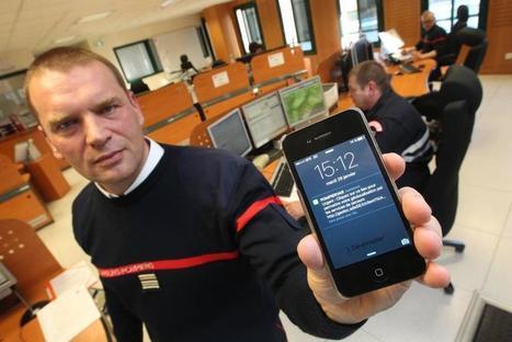 Les pompiers du Var lancent une appli qui pourrait sauver votre vie | Gestion des risques et accessibilité | Scoop.it