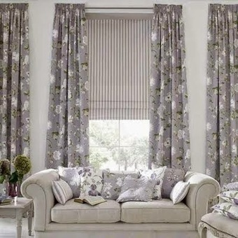 Top 10 trends living room curtain styles, colors and materials part 2 | living room design | Scoop.it