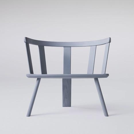 MSDS Studio s'inspire d'un fauteuil du 17e siècle pour cette assise sur 3 pieds | inoow design lab | Scoop.it