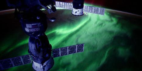 Des aurores boréales et australes en timelapse depuis la Station spatiale internationale   Ressources pour le cours de Géographie   Scoop.it
