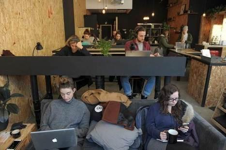 Des cafés canadiens réinventent l'espace de travail | Bureau du futur | Scoop.it