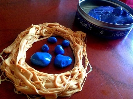 Toys are Tools: Review and Giveaway: Crazy Aaron's Thinking Putty Hypercolors: Change Is Definitely Good | Play = Learning | Scoop.it