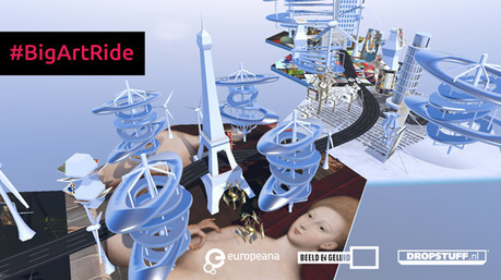 Big Art Ride : Europeana mixe sport, culture et réalité virtuelle | OhMyBook ! | Scoop.it