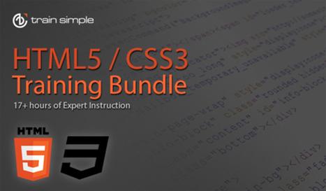 HTML5/CSS3 Build-A-Website Bundle For Beginners [Deal] | Responsive Web Design London | Scoop.it