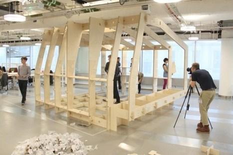 WikiHouse ou la DÉMOCRATISATION de la production architecturale | The Architecture of the City | Scoop.it