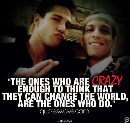 The ones who are crazy enough to think that they can change the... | Steve Jobs Picture Quotes | Quoteswave | Steve Jobs Quotes | Scoop.it
