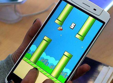 """Criador tira """"Flappy Bird"""" do ar e diz que game arruína sua vida, por Folha de S. Paulo   Economia Criativa   Scoop.it"""