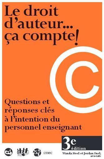 Le droit d'auteur pour le personnel enseignant et les élèves   Education & Numérique   Scoop.it