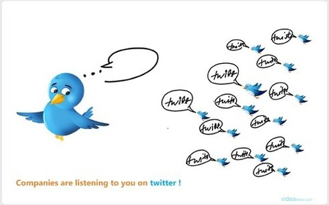 Companies are listening to you on Twitter | Cultura de massa no Século XXI (Mass Culture in the XXI Century) | Scoop.it