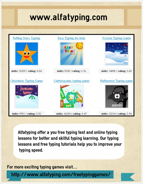 Free typing games | free online typing and free online typing games | Scoop.it