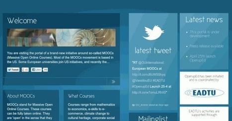 OpenunEd, iniciativa pan-europea de MOOC a nivel universitario (en español y con reconocimiento) | Recull diari | Scoop.it