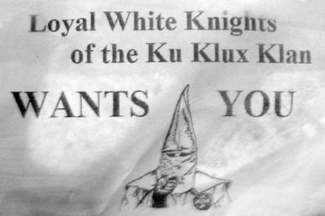 Racisme. États-Unis : le Ku Klux Klan recrute ! | Ku klux klan | Scoop.it