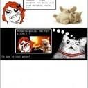 Derpina et le chat de la voisine ! | Trollface , meme et humour 2.0 | Scoop.it