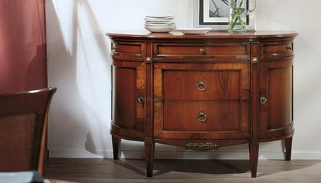 Mobilusso Furniture Handmade furniture & Antiques & Interior design - Credenzas | Cabinets | Luxury Reproduction French antique furniture | Scoop.it