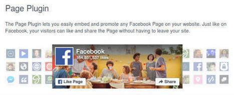 Bricolage du week-end : Fin de la like box Facebook | Campagnes web | Scoop.it