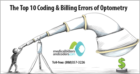 The Top 10 Coding & Billing Errors of Optometry | Medical Billing And Coding Services | Scoop.it