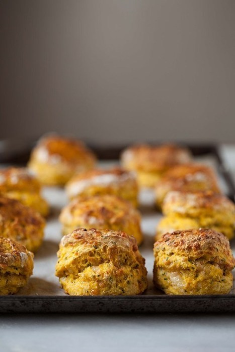 butternut scones with cheese and herbs {video} | Passion for Cooking | Scoop.it