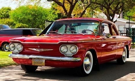 Chevrolet Corvair : l'américaine popu - | AutoCollec Voitures et automobiles de Collection | Scoop.it