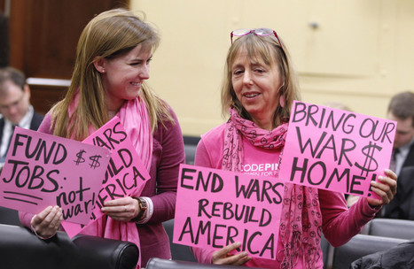 Medea Benjamin, Code Pink Leader, Celebrates Birthday At White House Syria Protest | Coffee Party Feminists | Scoop.it