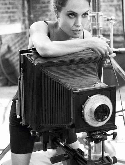 Shooting Film: Angelina Jolie's Self-Portraits with a Hasselblad | Jazz Vibes | Scoop.it