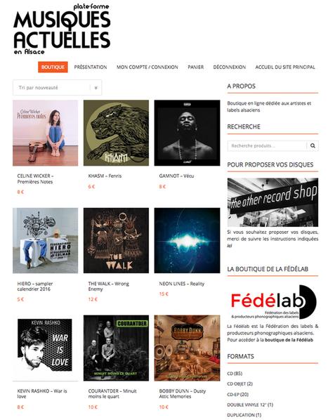 la boutique en ligne de musiquesactuelles.net. s'ouvre aux artistes et labels Lorrains et Champardennais | La Musique en Médiathèque et ailleurs | Scoop.it