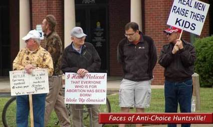 Fear and Loathing in Huntsville: Anti-Choice Protestors Target Hospitals in Alabama | Daily Crew | Scoop.it