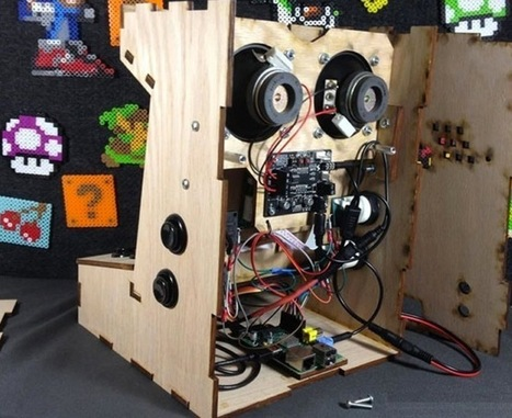 Raspberry Pi Mini Games Arcade Cabinet Kit Available From $50 | Raspberry Pi | Scoop.it