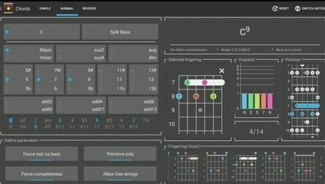 Las mejores apps android para encontrar acordes de canciones | Recull diari | Scoop.it