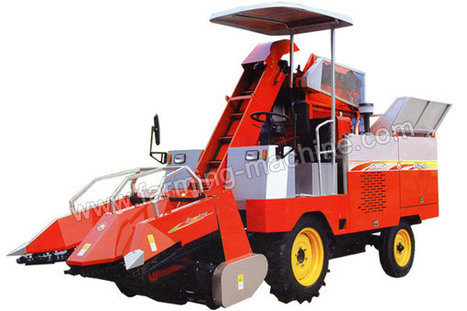 Two-row Self-propelled Corn Harvester, Corn Combine Harvester | Farming Machine | Scoop.it