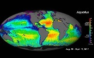 Aquarius produjo el primer Mapa Global de la Salinidad Superficial del Mar | CEREGeo - Geomática | Scoop.it