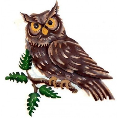 Lone Owl Wall Decor | Home Decor | Scoop.it