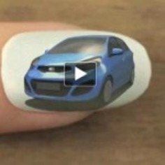 World's First Animation on Fingernails | HarSaat | Machinimania | Scoop.it