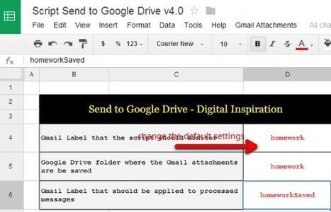 G-learning: How to automatically send homework and other files from your Gmail inbox to Google Drive | Using Google Drive in the classroom | Scoop.it