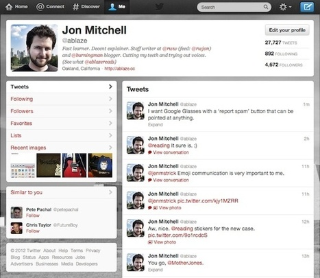 Twitter Launches Ugly Updates In The Name Of Consistency | NYL - News YOU Like | Scoop.it